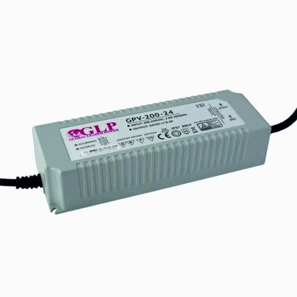 200W LED maitinimo šaltinis GPV Hermetinis