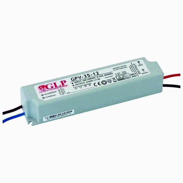 35W LED maitinimo šaltinis GPV Hermetinis